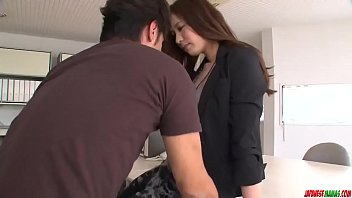 Sensual MILF leaves y. hunk to drill her pussy - More at javhd.net thumbnail