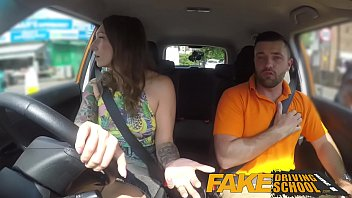 Drive lack man sex Fake driving school ava austen gets cum-pensation from max deeds cock