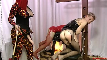 "Mistress Spanking Butt Twink and Fuck in Mouth <span class=""duration"">6 min</span>"