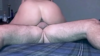 Eater friend trying to get my wife pregnant punching hard and cumming inside