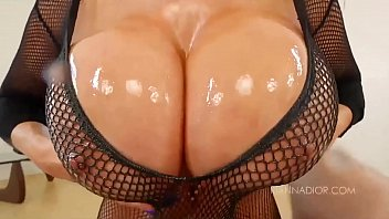 Big Tit MILF Kianna Dior Fishnet POV Blowjob | Video Make Love