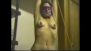 Milf tied and hanging