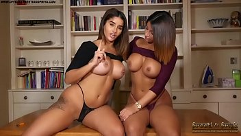 Dirty sexy twins Indian twins strip and give you jerk off instructions