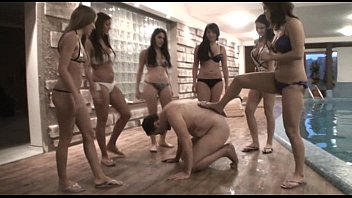 Femdom Girls enjoy to tortured their slaves