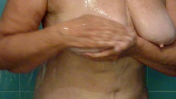 66 Year Old Granny's Clean Titties.MP4
