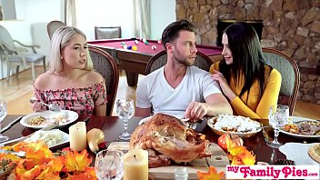 """""""Who's Hotter"""" - Competing For His Thanksgiving Creampie S10:E6 12 min"""