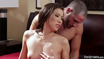 Asian milf escort fucked by first client