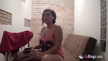 Chubby spanish - Hot spanish nurse films herself to show us her sexual de-stressing method