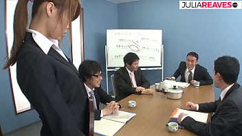 Japanese Secretary Needs More Money But She Must Be A Sex Slave For The Whole Office, Uncensored JAV