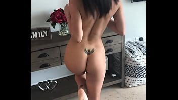 Hot MILF Eva gets naked for her casting interview before a hard fucking