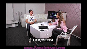 Femaleagent Stud Can't Handle The Pressure To Perform