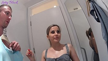 Opposite sex change Fitting room sex with clothing store consultant ends cum swallow