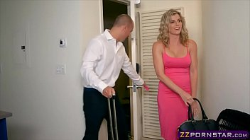 Awesome blonde MILF Cory Chase doing anal with a bellboy