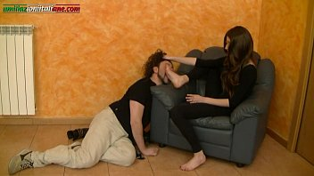 Breath Tease & Denial Interrogation 2 Girls on 1 Man