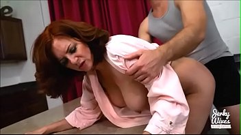 Mother forcing son to have sex Andi james makes sweet sexy time with her step son