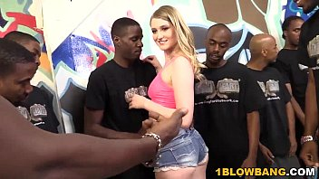 Summer Carter Gets Banged By A Group Of Black Men
