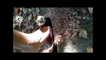 Fetal sex recognition - Crushing outdoors in high heels fetish obsession