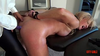 Watch her squirt when I pull my Dildo out of her  ASS  Sally D'angelo Mandy vixen