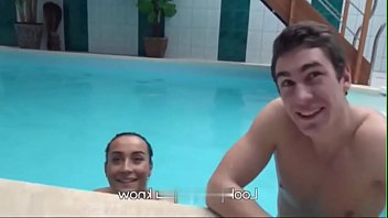 Crazy Sex adventures in private swimming pool 3