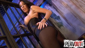 Dava Foxx locks you up FEMDOM CHASTITY PANTYHOSE JOI young tight pussy titty fuck