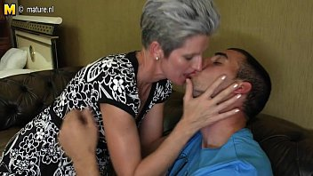 Skinny short milf free Skinny mom makes love to her sons hard cock