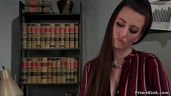 Dom babe otk spanks personal assistant
