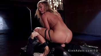 Cruising for dick Natural blonde gets slave traning on big cock