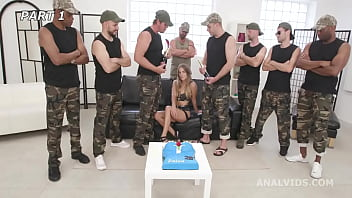 Eveline Dellai is Unbreakable #1 Bday Party, ATM, DAP, No Pussy, Creampie Swallow, Cum in Mouth GIO1897