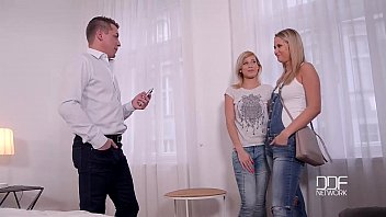 Hunting For Cum Stunning Blondes Get Hardcore Fucked