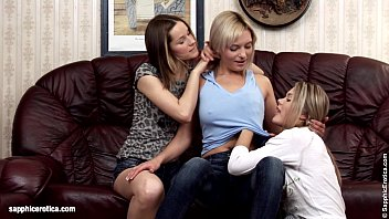 Clips from erotica archive Naughty trio ivanka ashlie and brea finger each other on sapphic erotica