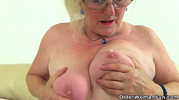 English granny Claire Knight needs that stuffed feeling