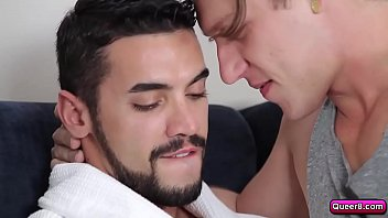 Paul Canon morning blowjob for Arad Winwin