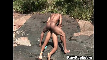 Latino Gay Excited On His First Bareback Sex