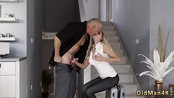 Very hot blonde big tits and best prostate blowjob Finally at home,