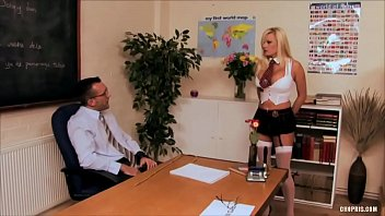 Michelle Thorne Enjoys a Giant Rod in Her Mouth then to