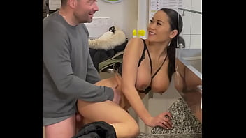 Good Sex In The Restaurant With Busty Asian French Mailyne