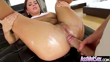 Hard Anal Sex On Cam With (keisha grey) Big Butt Girl Oiled All Over clip-14