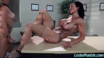 Mean Lesbian (jenna jewels) Punish With Sex Toys A Lovely Girl clip-23