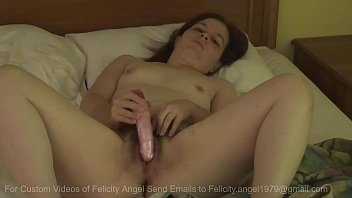 Felicity Angel Masturbates With Vibrator