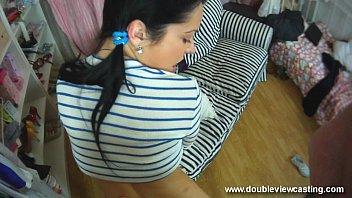 DOUBLEVIEWCASTING.COM - NELLY FEELS SOMETHING UP HER FANNY (POV VIEW) 28 min