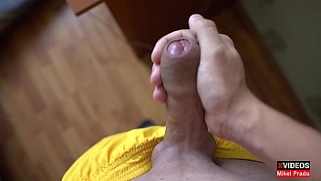 Young guy after school jerked off his dick Mikel Prado Dick Evolution
