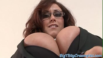 Bigtit milf titfucked in POV action