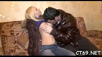 Teen fucking action with a chick