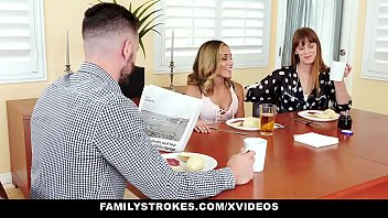 FamilyStrokes - Flashing Her Pussy (Averie Moore) For Pervy Stepuncle thumbnail