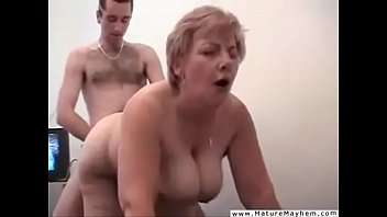 Son fucks mom while dad films
