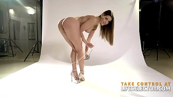 Picturing you naked Photo shooting affair with gorgeous sybil