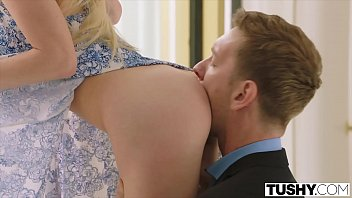 TUSHY Hot Teen Gapes For Dominating Russian Boyfriend