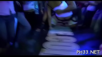 X puss porn Cope dancing strip and trickling puss
