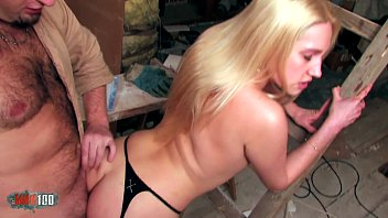 Fucking a beautifull blonde with tight pussy and fucking her in the ass