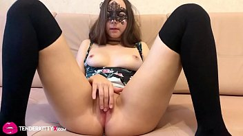 5418 Sexy Brunette Blowjob in Butt Plug and Rough Sex Lover - Oral Creampie preview
